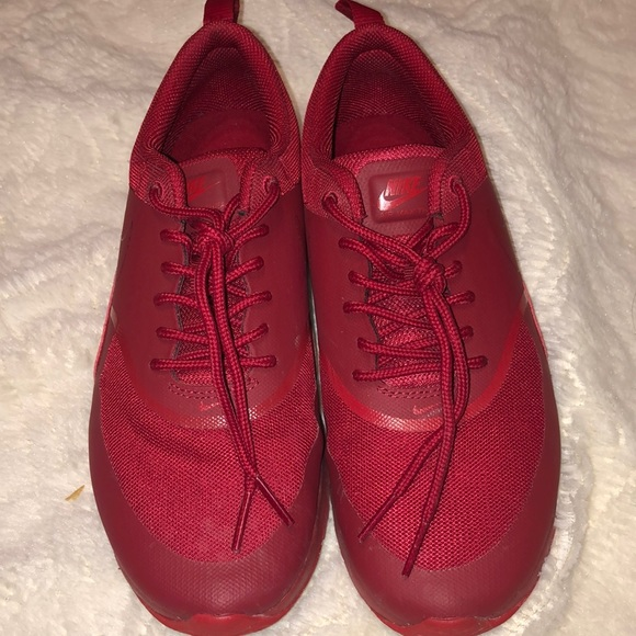 Nike Shoes - NIKE SHOES RED SIZE 7